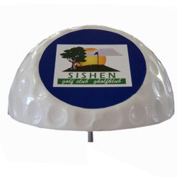 Tee Marker-Half Ball with Cut Off