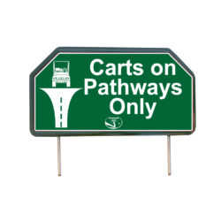 Cars on Pathways Only